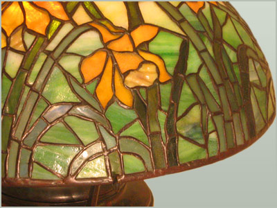 Tiffany Studios Lamps And Windows